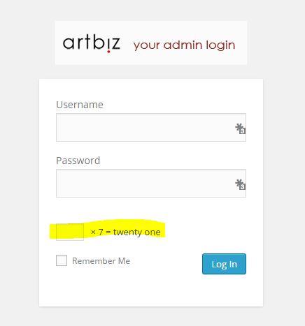 Artbiz Client Login