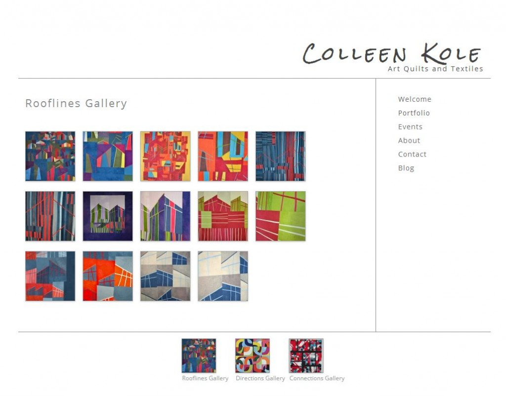 Colleen Kole - Art Quilts and Textiles