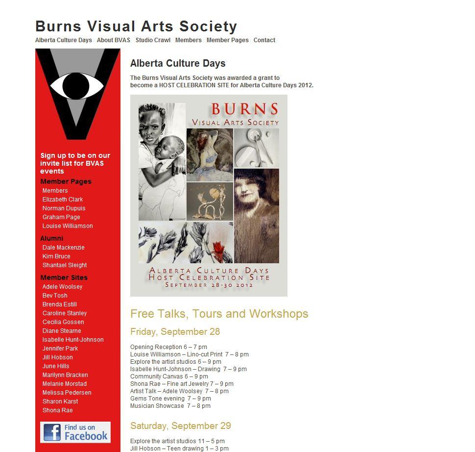 Burns Visual Arts Society