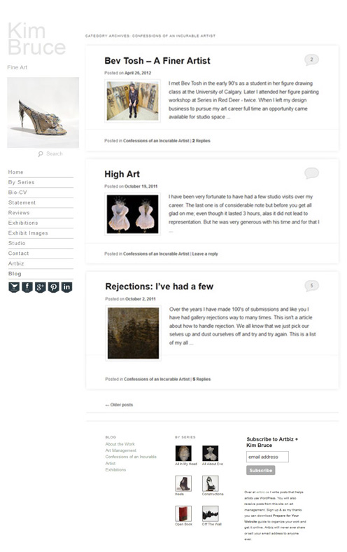 Kim Bruce Fine Art Blog