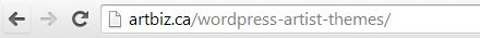 Browser Address Bar in Chrome