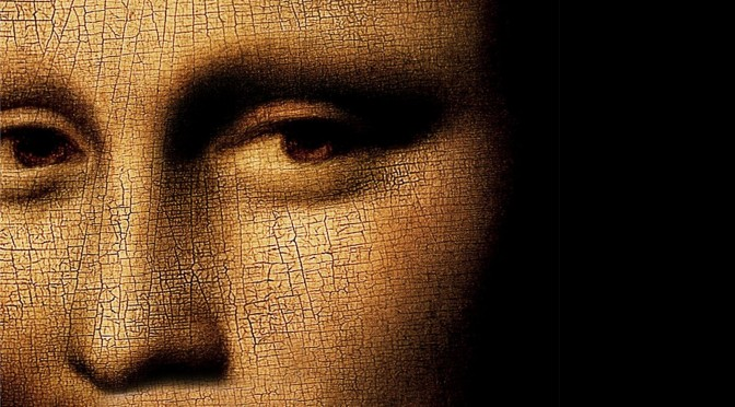 Mona Lisa Detail (altered image)
