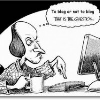 To blog but not be a blogger