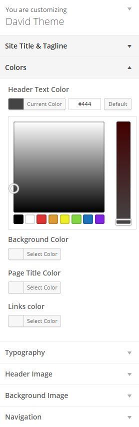 david-customize-colors
